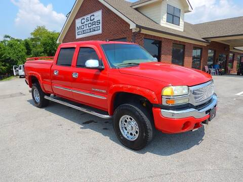2004 GMC Sierra 2500HD for sale at C & C MOTORS in Chattanooga TN