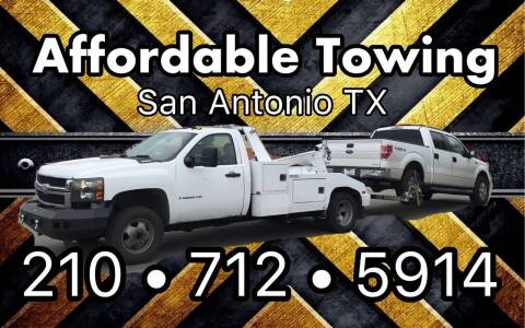 A Affordable Towing for sale at C.J. AUTO SALES llc. in San Antonio TX