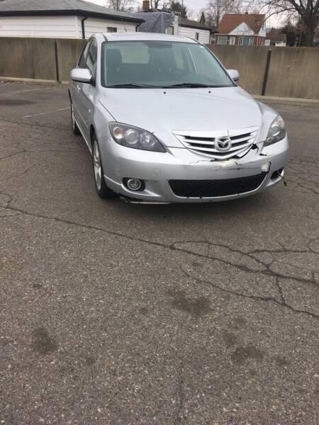 2005 Mazda MAZDA3 for sale at Suburban Auto Sales LLC in Madison Heights MI