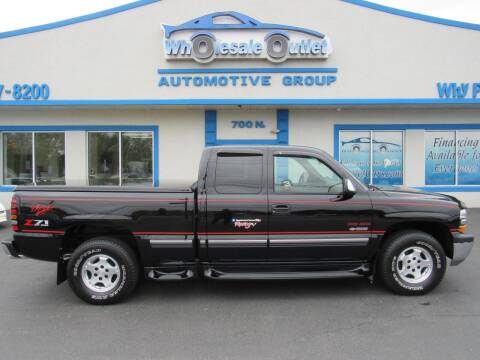 2001 Chevrolet Silverado 1500 for sale at The Wholesale Outlet in Blackwood NJ