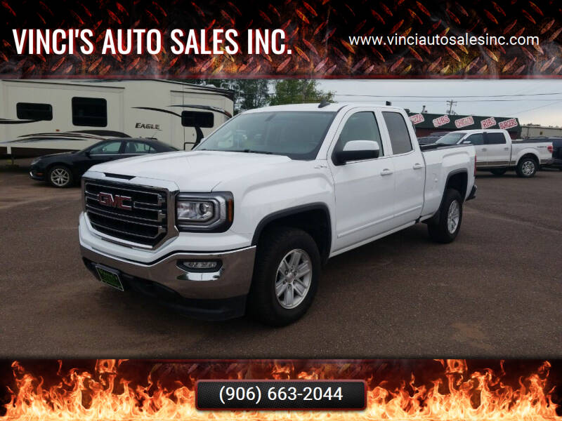 2017 GMC Sierra 1500 for sale at Vinci's Auto Sales Inc. in Bessemer MI