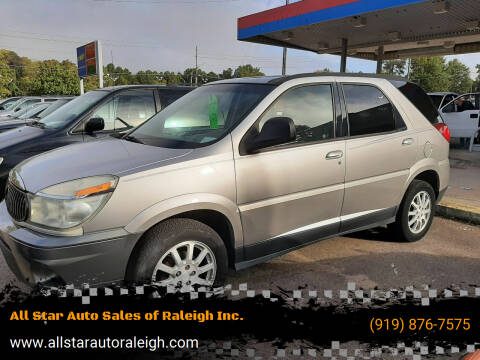 2007 Buick Rendezvous for sale at All Star Auto Sales of Raleigh Inc. in Raleigh NC