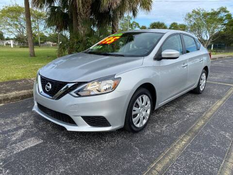 2016 Nissan Sentra for sale at Lamberti Auto Collection in Plantation FL