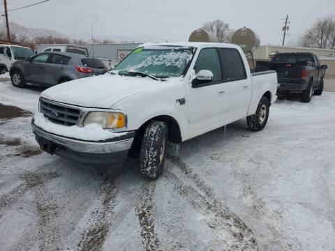 2001 Ford F-150 for sale at Canyon View Auto Sales in Cedar City UT