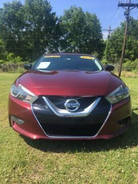 2016 Nissan Maxima for sale at CAPITOL AUTO SALES LLC in Baton Rouge LA