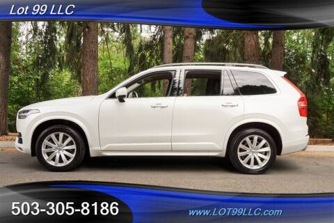 2016 Volvo XC90 for sale at LOT 99 LLC in Milwaukie OR