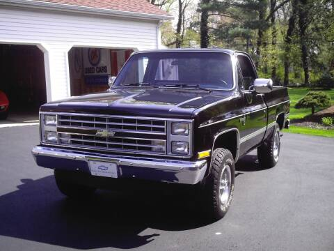 1985 Chevrolet C/K 10 Series for sale at STAPLEFORD'S SALES & SERVICE in Saint Georges DE