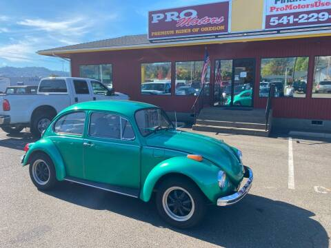 1972 Volkswagen Beattle for sale at Pro Motors in Roseburg OR