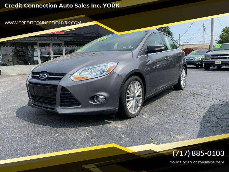 2012 Ford Focus for sale at Credit Connection Auto Sales Inc. YORK in York PA
