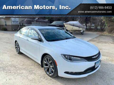 2015 Chrysler 200 for sale at American Motors, Inc. in Farmington MN