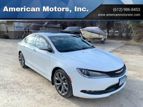 2015 Chrysler 200 for sale at American Motors, Inc. in Farmington MN