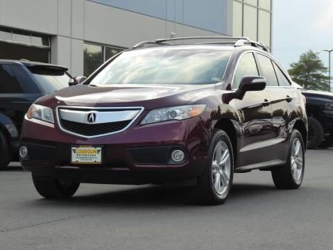 2013 Acura RDX for sale at Loudoun Used Cars - LOUDOUN MOTOR CARS in Chantilly VA