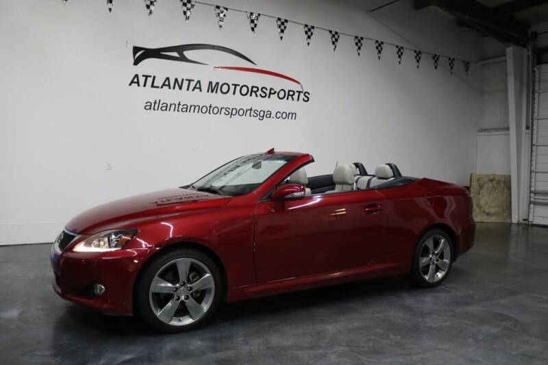 2011 Lexus IS 250C for sale at Atlanta Motorsports in Roswell GA