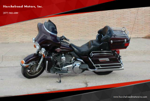2007 Harley Davidson ULTRA CLAS for sale at Harchelroad Motors, Inc. in Wauneta NE