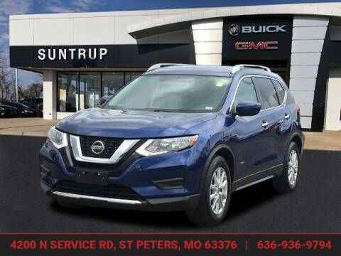 2018 Nissan Rogue Hybrid for sale at SUNTRUP BUICK GMC in Saint Peters MO