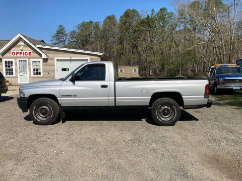 2001 Dodge Ram Pickup 1500 for sale at MIKE B CARS LTD in Hammonton NJ
