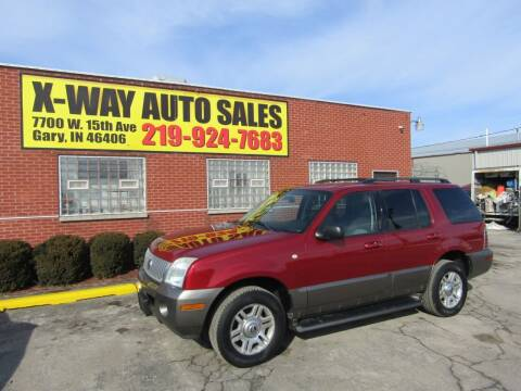 2004 Mercury Mountaineer for sale at X Way Auto Sales Inc in Gary IN