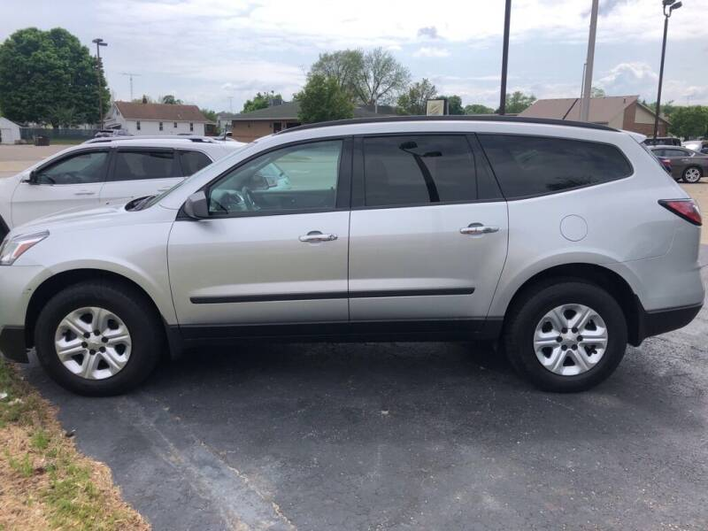 2015 Chevrolet Traverse for sale at Tonys Car Sales in Richmond IN