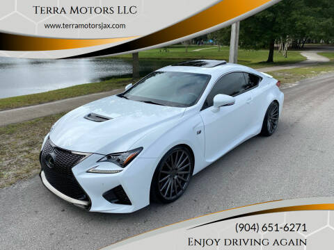 2015 Lexus RC F for sale at Terra Motors LLC in Jacksonville FL