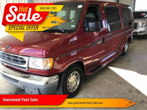 1998 Ford E-Series Cargo for sale at Government Fleet Sales in Kansas City MO
