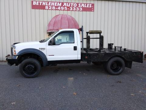 2007 Ford F-550 Super Duty for sale at Bethlehem Auto Sales LLC in Hickory NC
