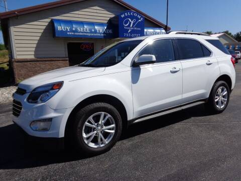 2017 Chevrolet Equinox for sale at VanderHaag Car Sales LLC in Scottville MI
