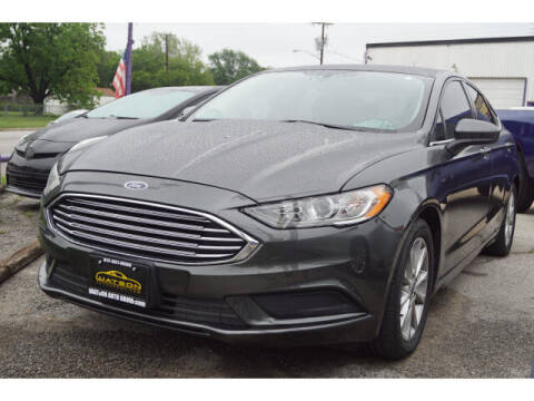2017 Ford Fusion for sale at Watson Auto Group in Fort Worth TX