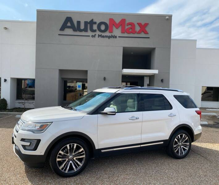 2016 Ford Explorer for sale at AutoMax of Memphis in Memphis TN