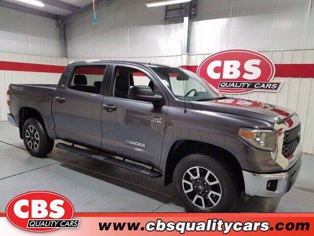 2018 Toyota Tundra for sale at CBS Quality Cars in Durham NC