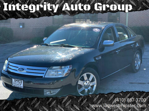 2009 Ford Taurus for sale at Integrity Auto Group in Westminister MD