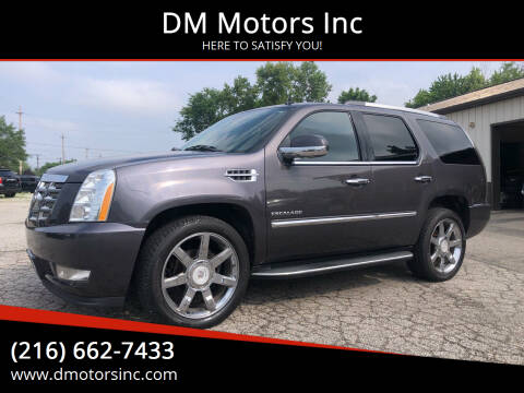 2011 Cadillac Escalade for sale at DM Motors Inc in Maple Heights OH
