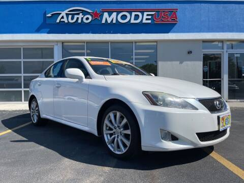 2006 Lexus IS 250 for sale at AUTO MODE USA in Burbank IL