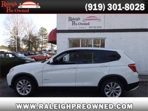 2013 BMW X3 for sale at Raleigh Pre-Owned in Raleigh NC