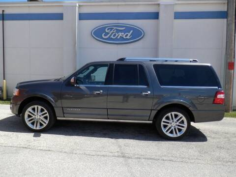 2016 Ford Expedition EL for sale at Welterlen Motors in Edgewood IA