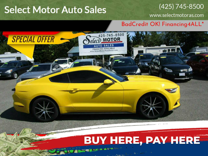 2015 Ford Mustang for sale at Select Motor Auto Sales in Lynnwood WA