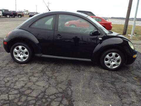 2002 Volkswagen New Beetle for sale at Kevin's Motor Sales in Montpelier OH