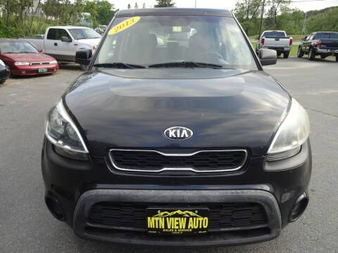 2013 Kia Soul for sale at MOUNTAIN VIEW AUTO in Lyndonville VT