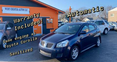 2009 Pontiac Vibe for sale at West Chester Autos in Hamilton OH