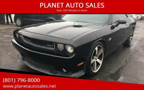 2012 Dodge Challenger for sale at PLANET AUTO SALES in Lindon UT
