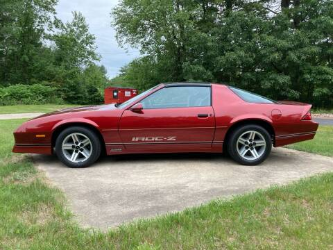 1987 Chevrolet Camaro for sale at Cella  Motors LLC in Auburn NH