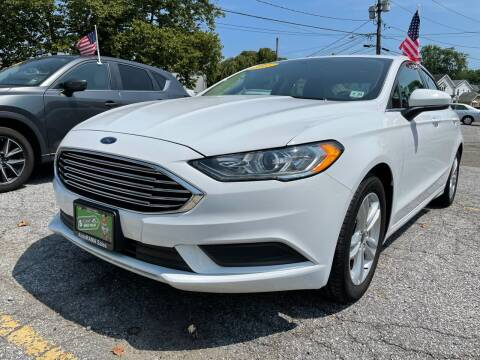 2018 Ford Fusion for sale at AUTORAMA SALES INC. in Farmingdale NY