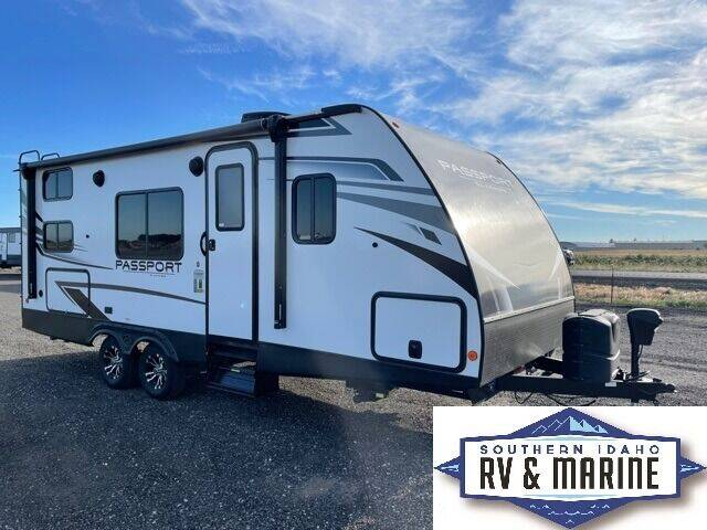 2021 KEYSTONE PASSPORT 219BH for sale at SOUTHERN IDAHO RV AND MARINE in Jerome ID