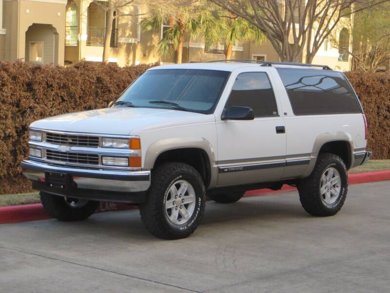 1999 Chevrolet Tahoe for sale at RBP Automotive Inc. in Houston TX