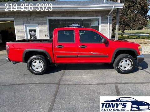 2006 Chevrolet Colorado for sale at Tonys Auto Sales Inc in Wheatfield IN