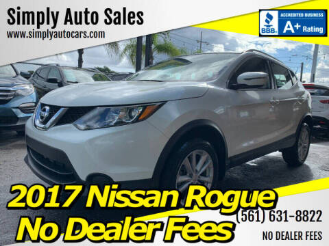 2017 Nissan Rogue Sport for sale at Simply Auto Sales in Palm Beach Gardens FL