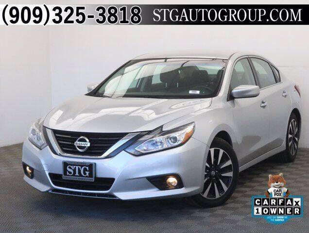 2018 Nissan Altima for sale at STG Auto Group in Montclair CA