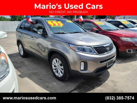 2015 Kia Sorento for sale at Mario's Used Cars - South Houston Location in South Houston TX