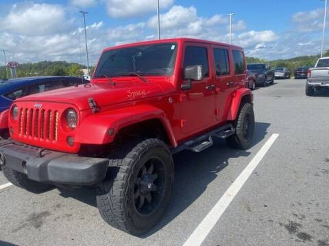 2016 Jeep Wrangler Unlimited for sale at The Car Guy powered by Landers CDJR in Little Rock AR