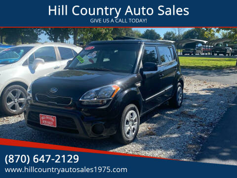 2013 Kia Soul for sale at Hill Country Auto Sales in Maynard AR