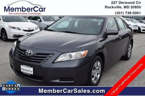 2009 Toyota Camry for sale at MemberCar in Rockville MD